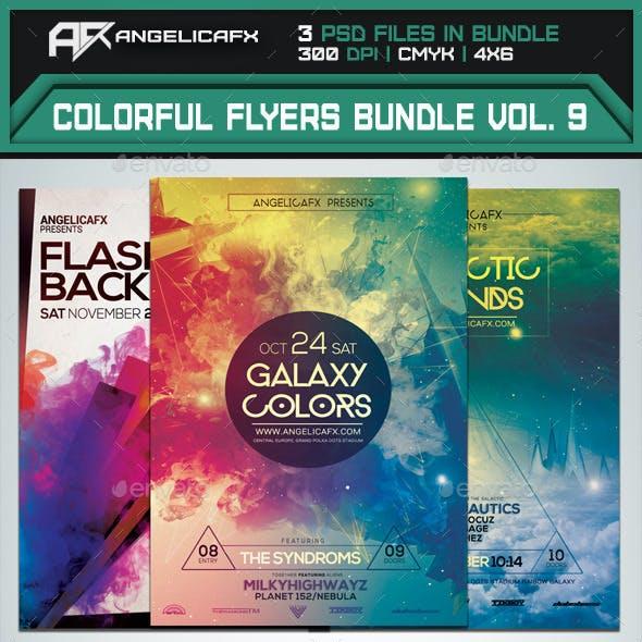 Colorful Flyers Bundle Vol. 9
