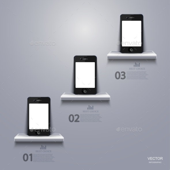 Smartphone Infographic. - Computers Technology