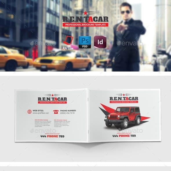 Rent A Car Brochure Templates