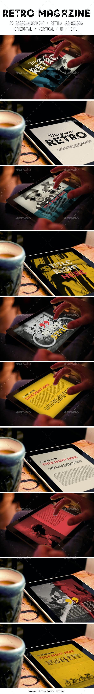 iPad & Tablet Retro Magazine - Digital Magazines ePublishing