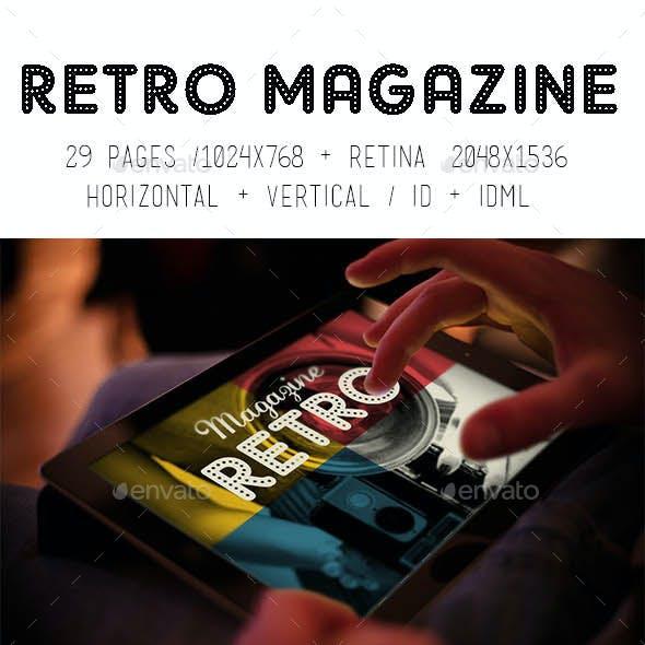 iPad & Tablet Retro Magazine