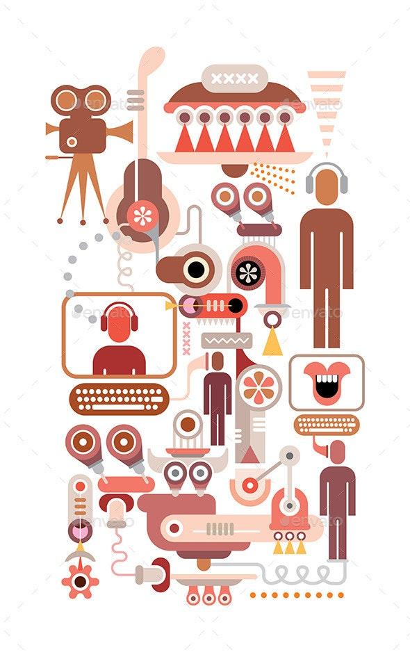 Social Network - Communications Technology