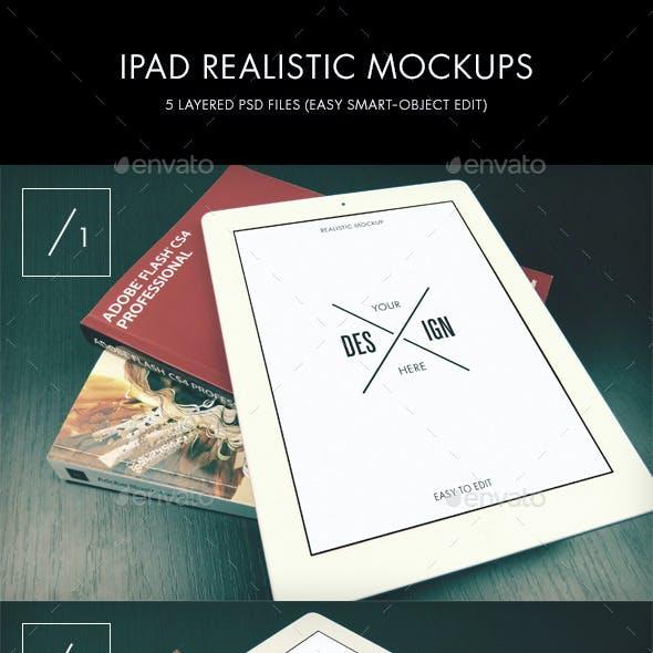 iPad Realistic Mockups