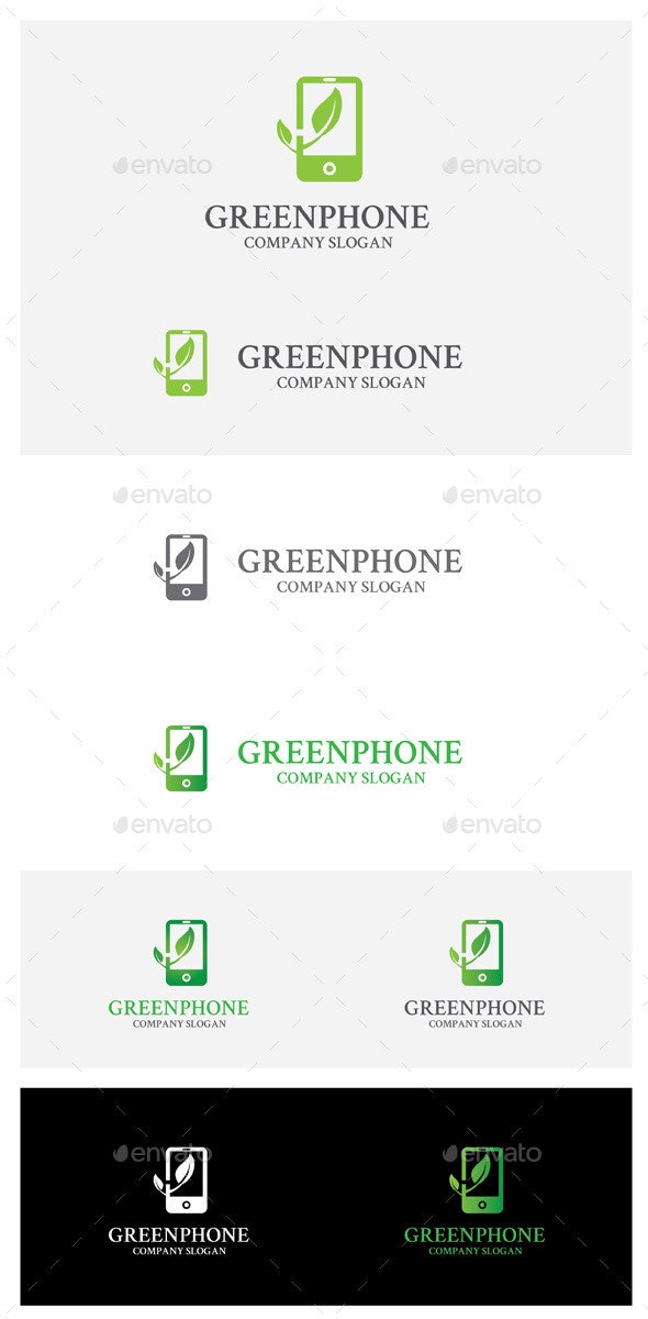 Greenphone - Symbols Logo Templates