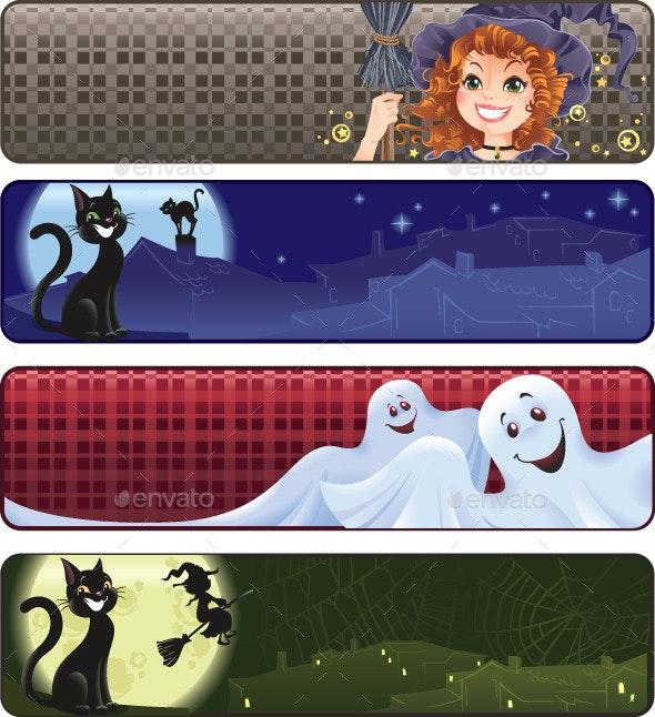 Funny Halloween Banners - Halloween Seasons/Holidays