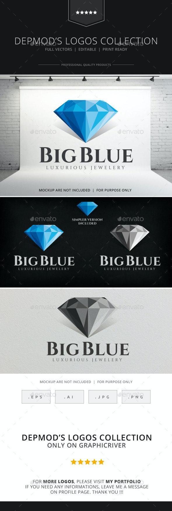 Big Blue Logo - Objects Logo Templates