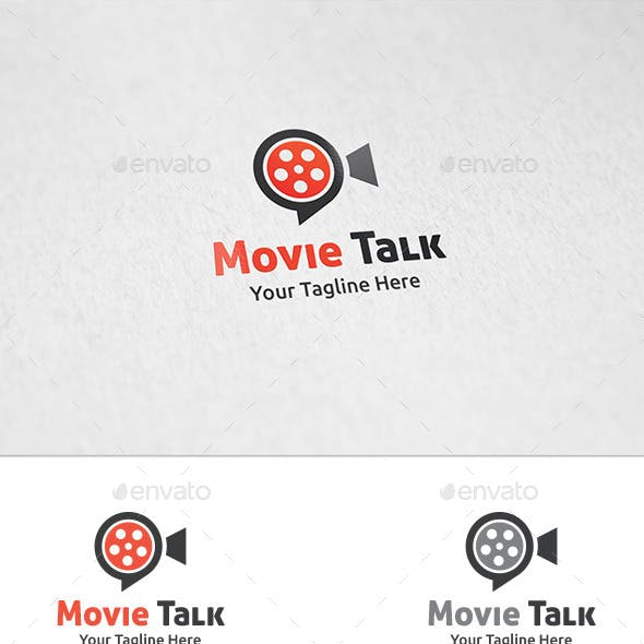 Movie Talk - Logo Template