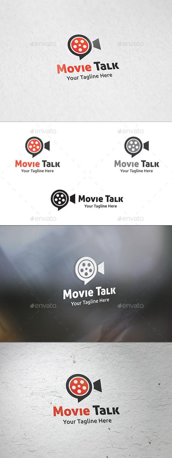 Movie Talk - Logo Template - Symbols Logo Templates