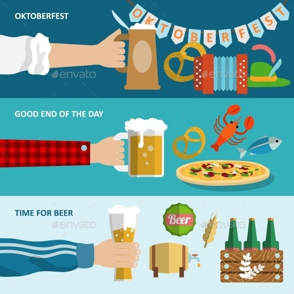 Beer Banner Set - Miscellaneous Seasons/Holidays