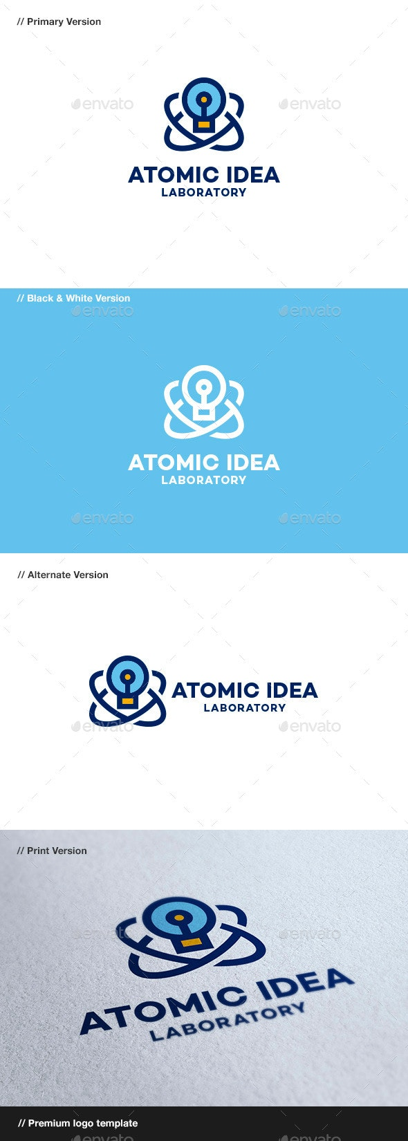 Atomic Idea - Objects Logo Templates