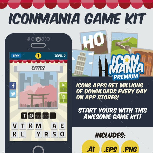 IconMania Game Kit