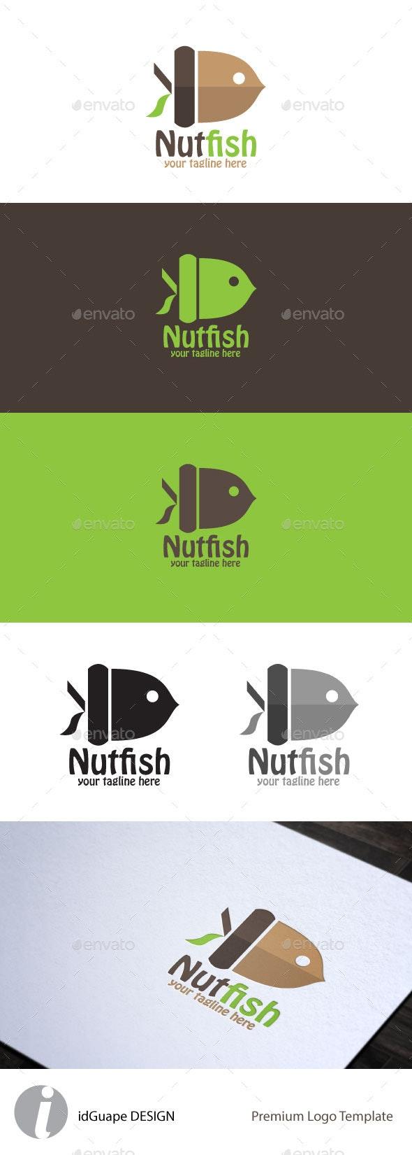 NutFish - Nature Logo Templates
