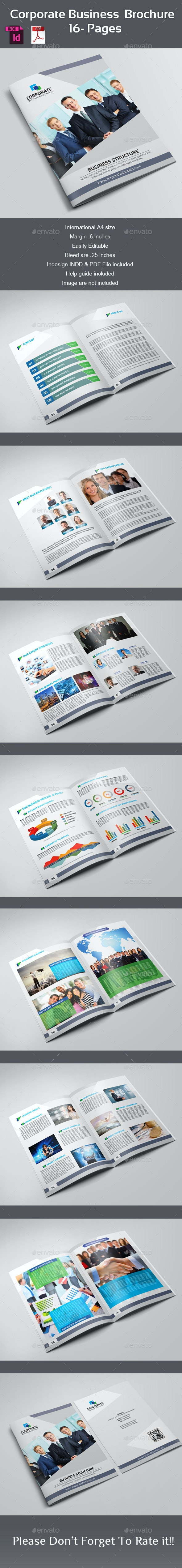 Corporate Business Brochure - 16 pages - Corporate Brochures