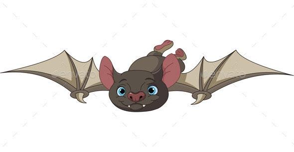 Halloween Bat in Flight - Animals Characters