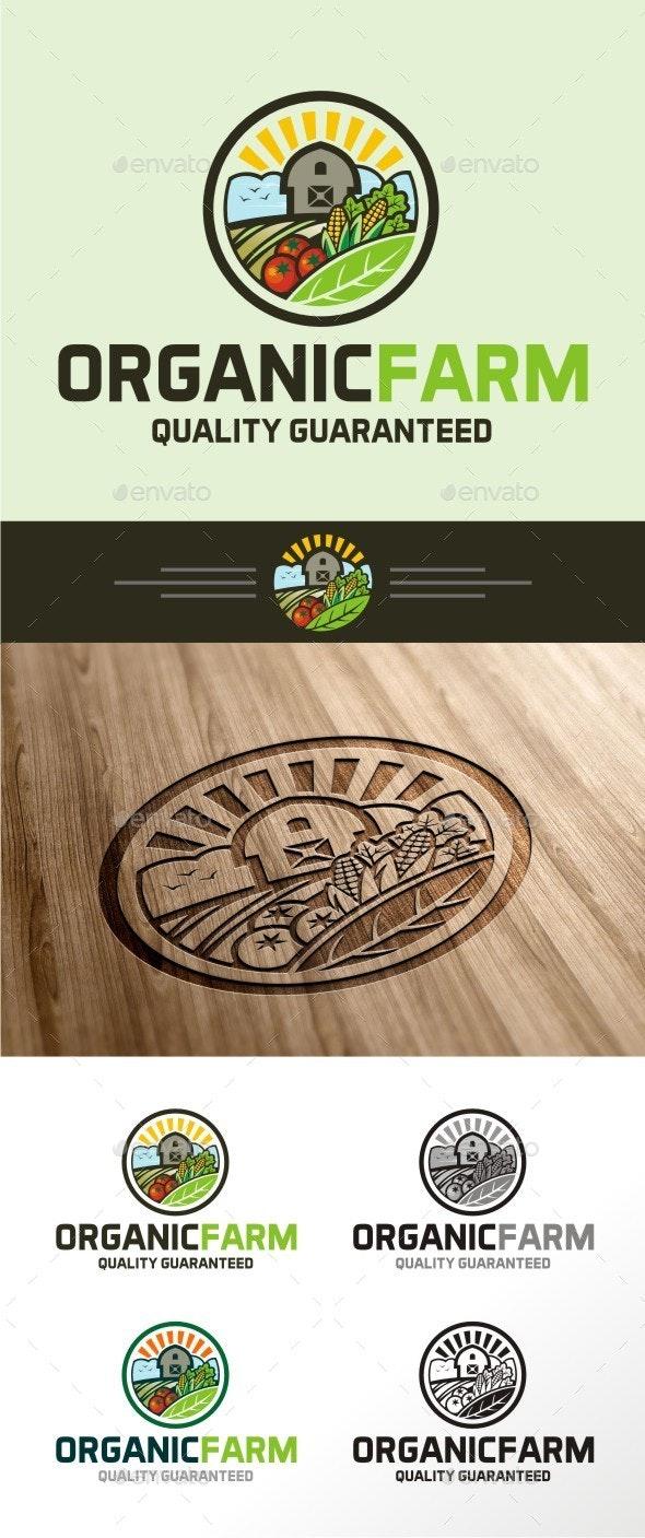 Organic Farm - Nature Logo Templates