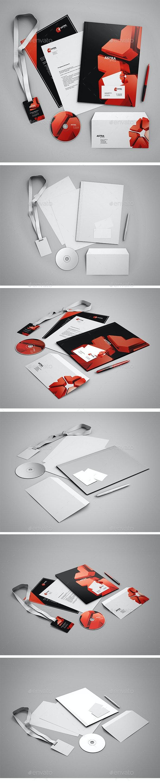 Branding Mock-Up - Product Mock-Ups Graphics