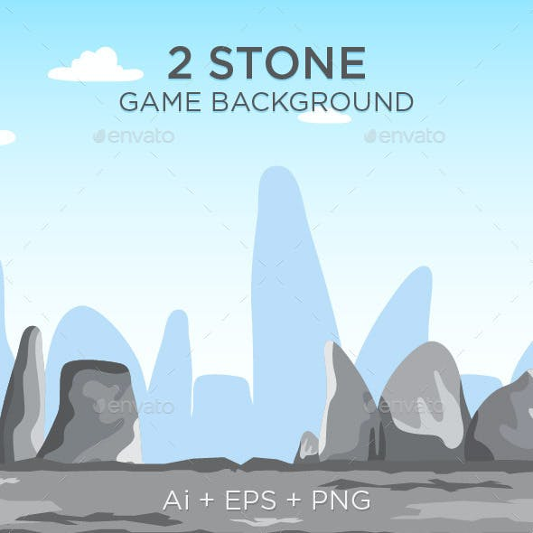 2 Tileable Stone Game Background