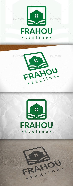 House Frame Logo - Buildings Logo Templates