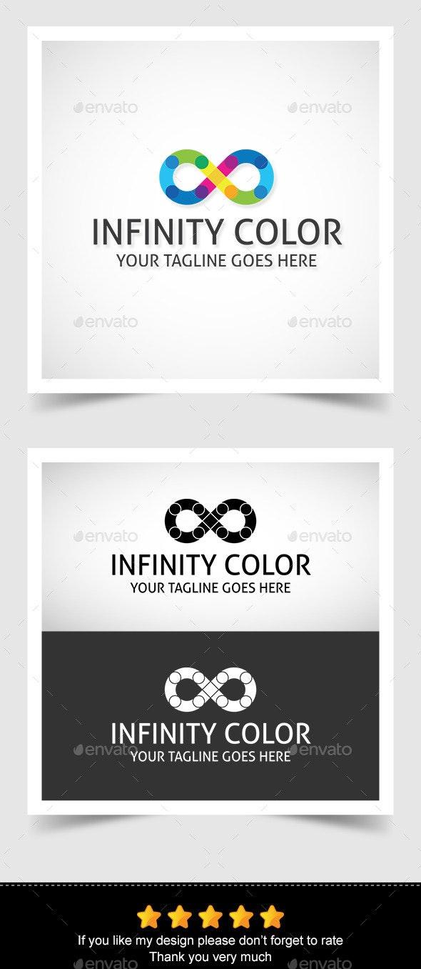 Infinity Color Logo - Symbols Logo Templates