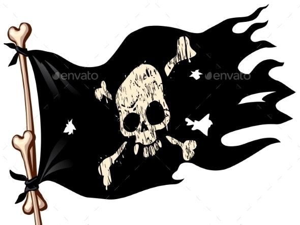 Pirate Flag - Halloween Seasons/Holidays