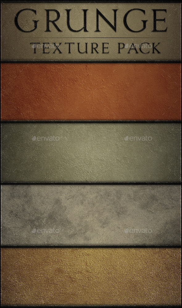 Sharp Grunge! - Industrial / Grunge Textures