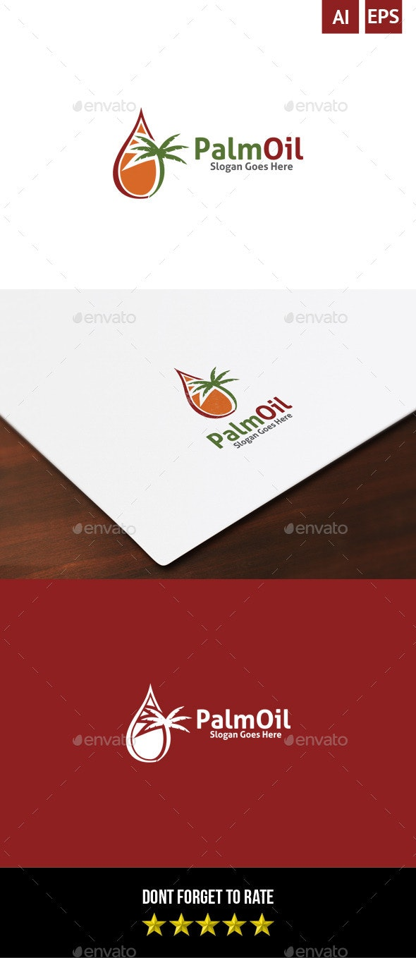 Palm Oil Logo - Objects Logo Templates