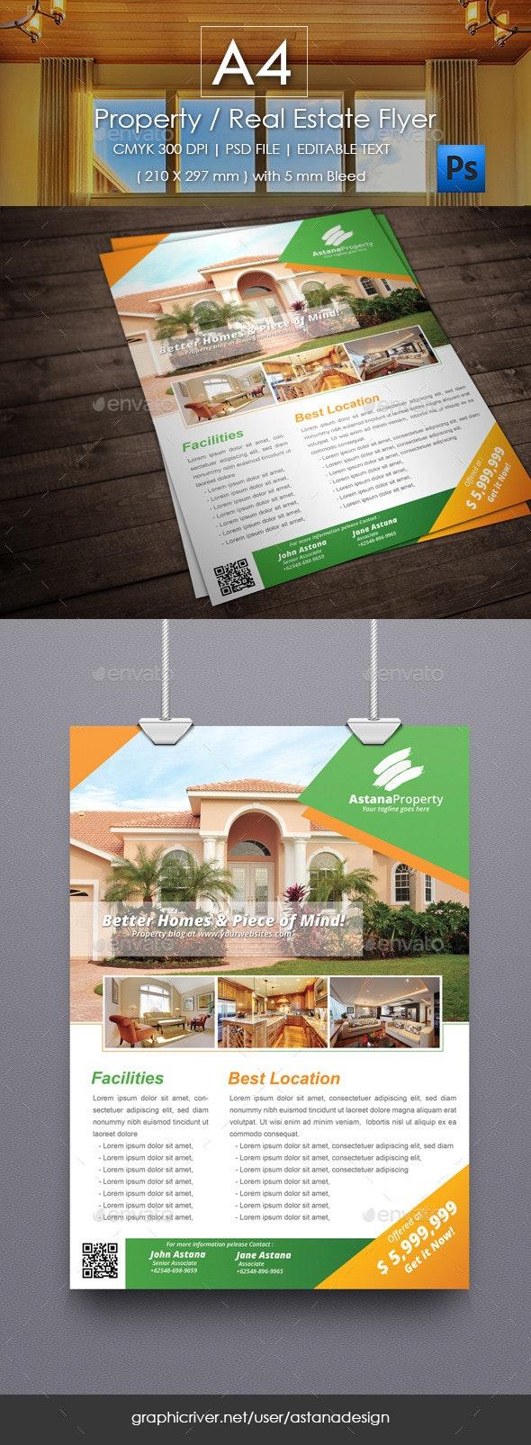 Property / Real Estate Flyer - Commerce Flyers