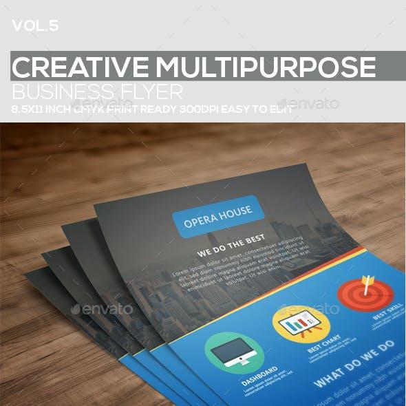 Creative Multipurpose Business Flyer vol.3