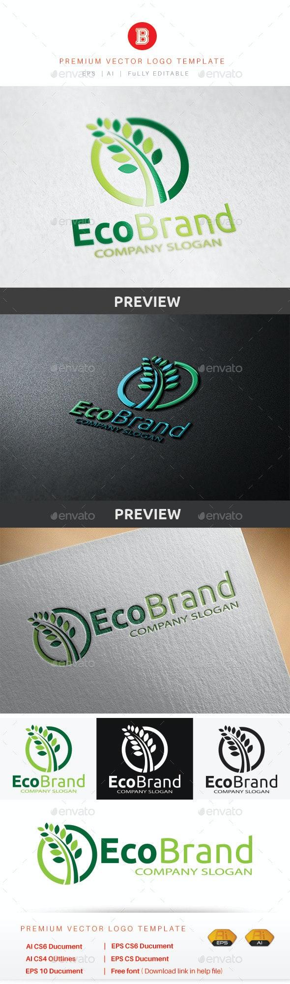 Eco Brand - Nature Logo Templates
