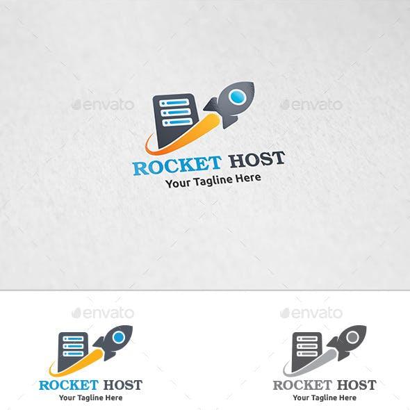 Rocket Host - Logo Template