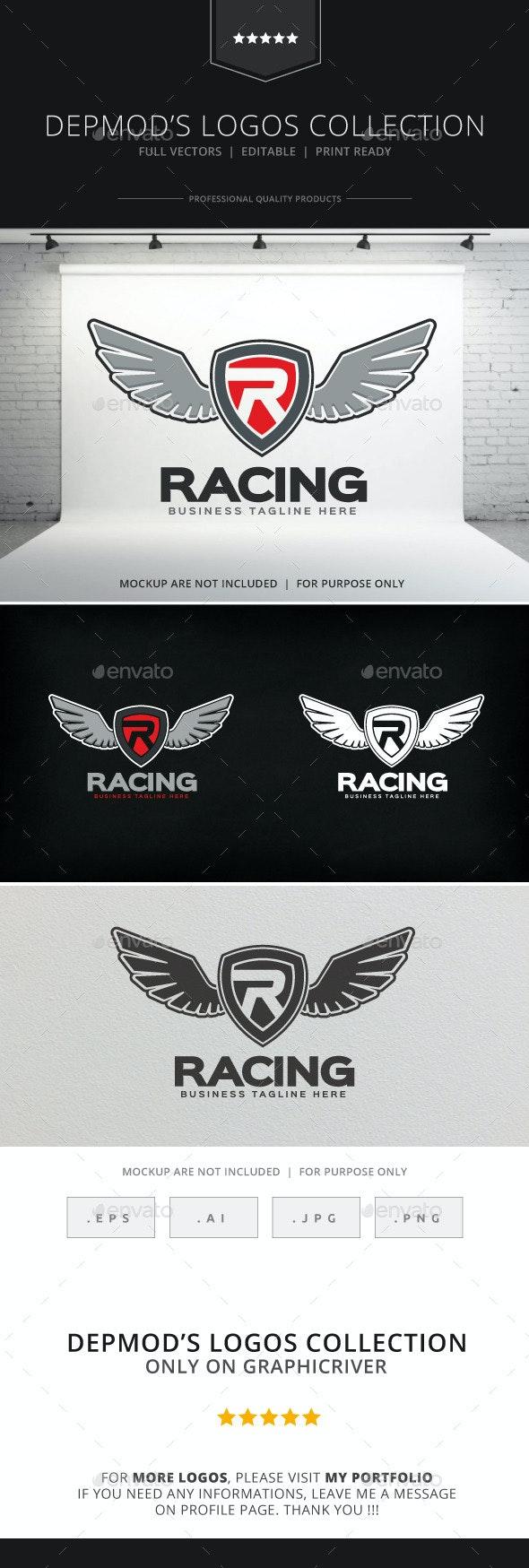 Racing Logo - Crests Logo Templates