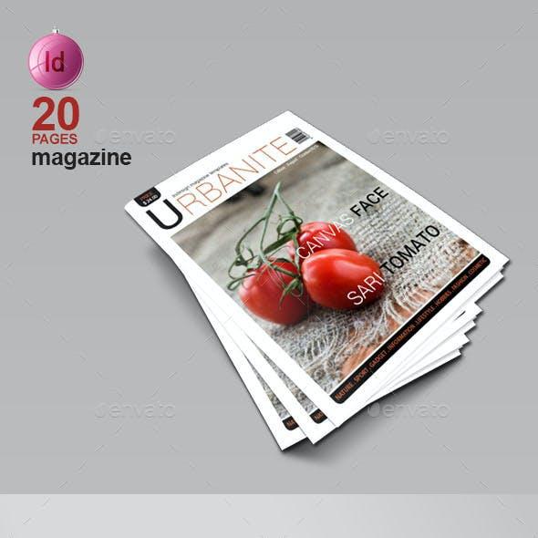 A4 Magazine Template