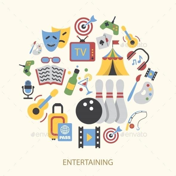 Entertainment Icons - Miscellaneous Vectors