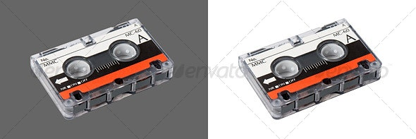 Cassette Tape - Technology Isolated Objects