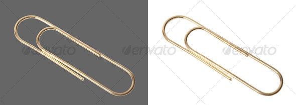 Paper Clip - Home & Office Isolated Objects