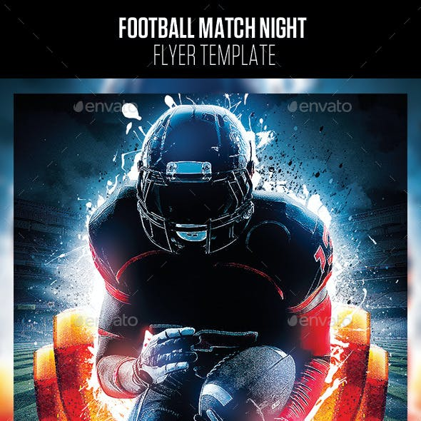 Football Match Night Flyer