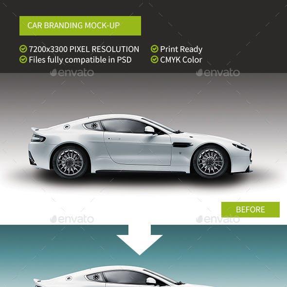 Easy Mockup For Fast Car Branding