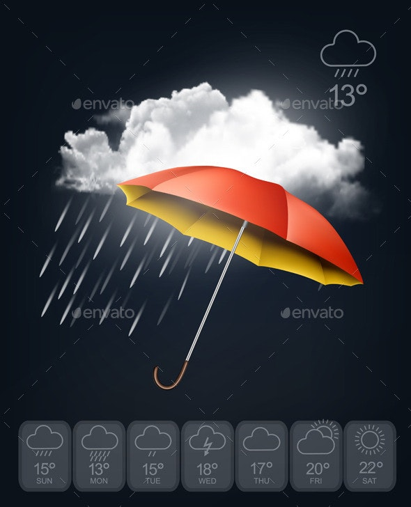 Weather Forecast Template - Seasons Nature