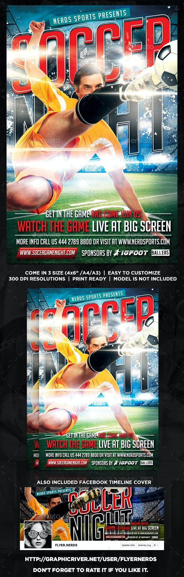 Soccer Flyer - Sports Events