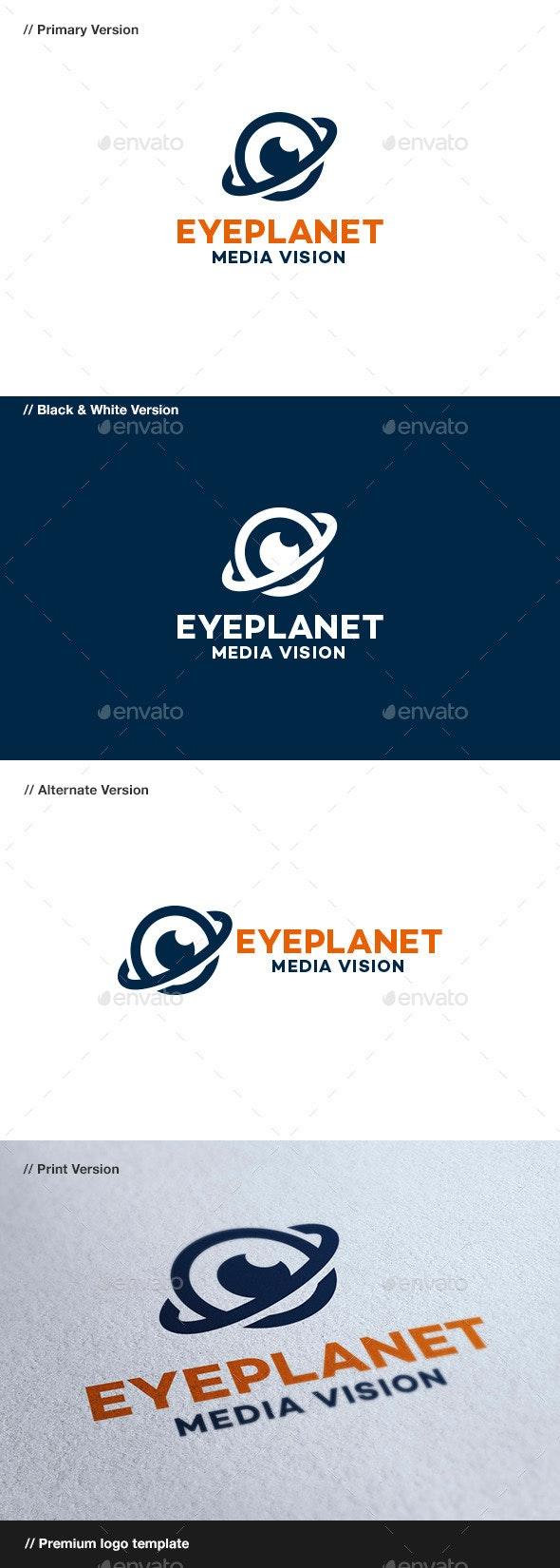 Eye Planet - Objects Logo Templates