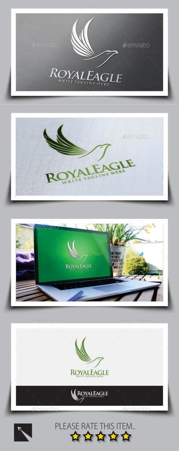 Royal Eagle Logo Template