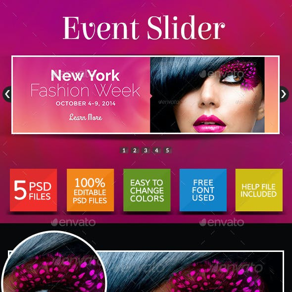 Event Sliders