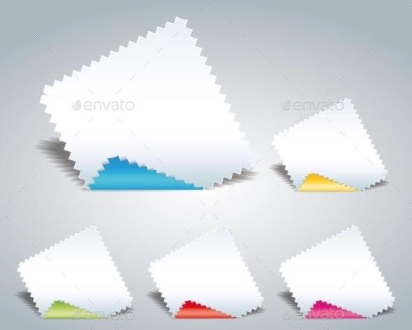 Paper - Web Elements Vectors