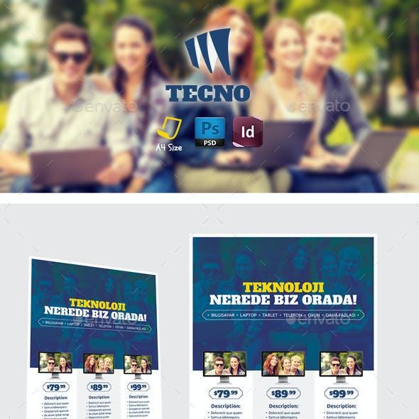 Tecnology Flyer Templates