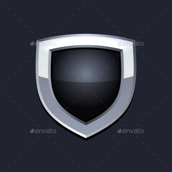 Protect  Shield Icon Vector - Web Elements Vectors