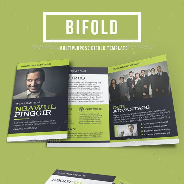 Corporate Bi-Fold Template