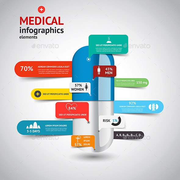 Medical Infographics Elements - Infographics