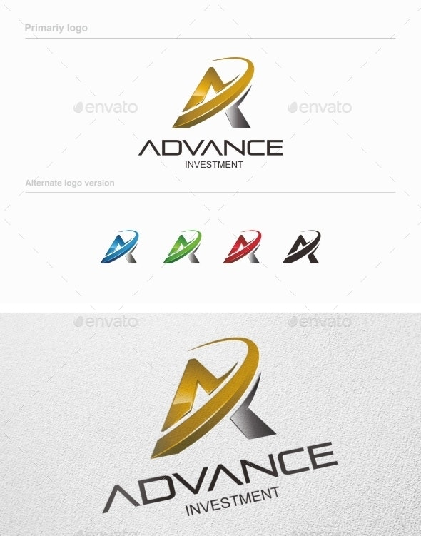 Advance Investment - Logo Template Vol 02 - Letters Logo Templates