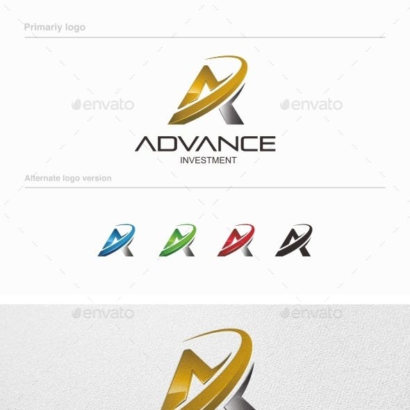 Advance Investment - Logo Template Vol 02