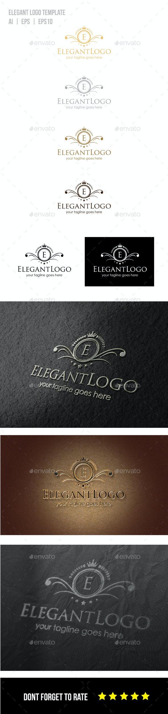 Elegant Logo Template - Symbols Logo Templates